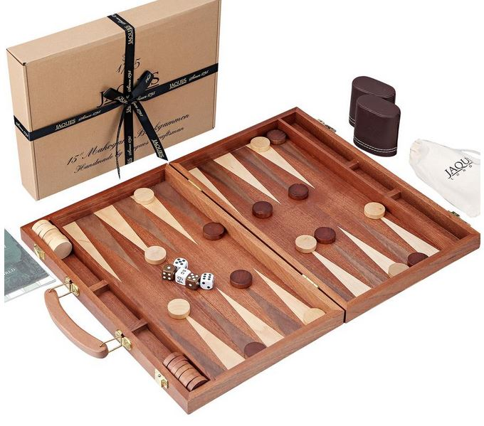 Deluxe Backgammon - Deluxe Backgammon sets and accessories